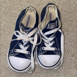 Gently Used Navy Converse